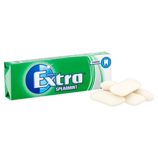Extra Spearmint Chewing Gum