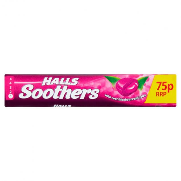 halls soothers