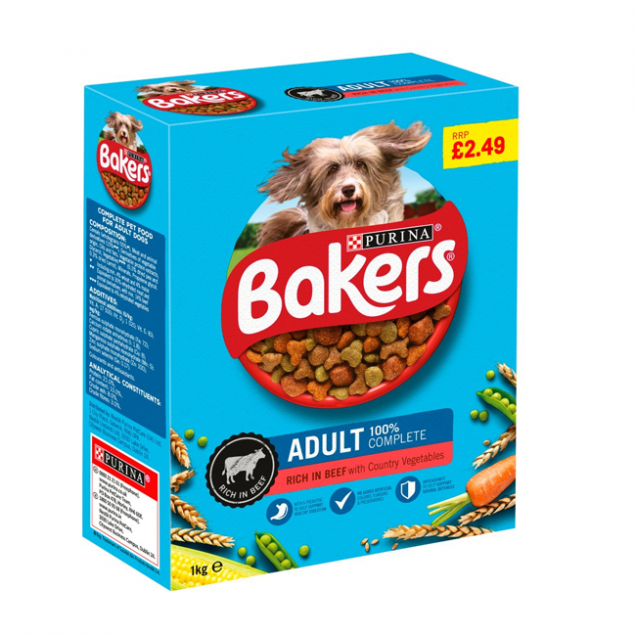 beef and vegetable dry dog food